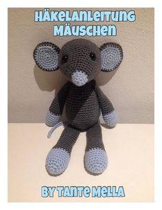 Jetzt mit der kostenlosen Anleitung eine hübsche Maus häkeln. Das macht Spaß ++ die Maus ist super kuschelig und total dekorativ. Leg gleich los damit.