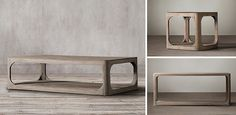 Martens Rectangle Table Collection | RH
