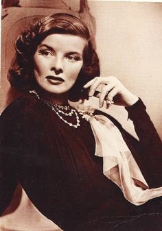 Katherine Hepburn...probably my favorite actress of all time :)