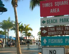 Times Square Ft Myers Beach Fort Florida Naples Keys