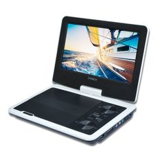 SYNAGY A29 9inch Portable DVD Player CD Player, White