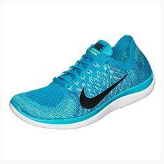 online retailer aae7a d29e4 Nike Women s Wmns Free 4.0 Flyknit, BLUE LAGOON BLACK-GAME ROYAL, 11 M US  ( Partner Link)
