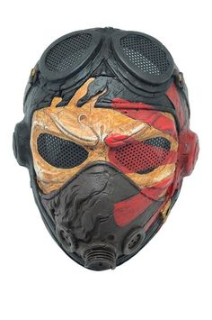 Airsoft Full Face Wire Mesh Protection Kamikaze Mask