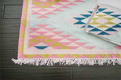 A collaboration between L&G and Glitter Guide, The Elodie Rug embodies everything we love about this fun, feminine brand