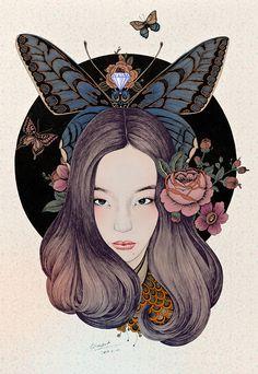 Beautiful Girl, Beautiful Life by Rlon Wang