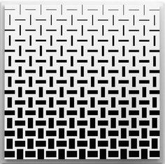 Marcello Morandini | Panel 4132000 (2000) | drawing on lacquered wood, 190x190x3cm Line Patterns, Textures Patterns, Pattern Art, Pattern Design, Spa Art, Tribal Tattoos For Men, Card Tattoo, Generative Art, Geometric Art
