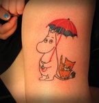 Moomin tattoo by Susy Ring by ~susyring on deviantART