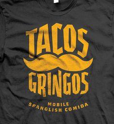 Tacos Gringos by Eric Thomas, via Behance