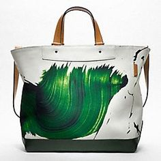 James Nares Tote for Coach. So fun for summer.