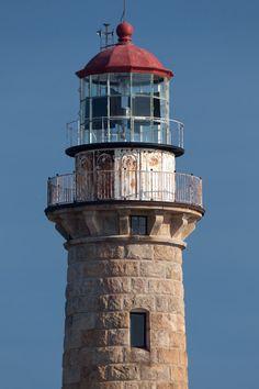 Little Gull Island Lighthouse, Michigan-by Chris S Thorpe