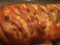 Turkey Cranberry Wreath Pie Recipe #RecipeIdeas for Holidays