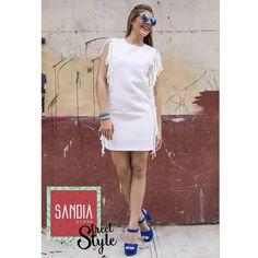 Esta sí es una auténtica sonrisa de: ¡Ya es sábado!  Y en Sandia te esperamos con excelentes descuentos y la ropa más chic!! #SandiaStreetStyle