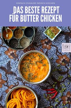 Original Indisches Butter Chicken Rezept The cooking Globetrotter - Famous Last Words The Best Butter Chicken Recipe, Butter Chicken Rezept, Vegan Butter Chicken, Chicken Parmesan Recipes, Chicken Salad Recipes, Whole 30 Crockpot Recipes, Whole30 Recipes Lunch, Easy Whole 30 Recipes, Vegan Avocado Recipes