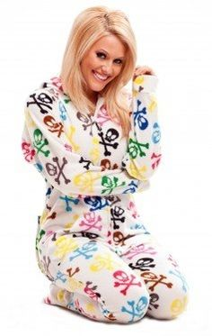 3f9302b55 Been feeling cold lately? The solution is here. These Hooded Footed Pajamas  For Adults