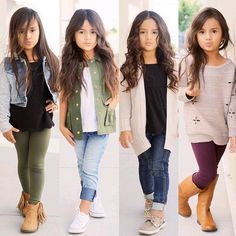 Little girls fashion, kids fashion Cute Kids Fashion, Little Girl Fashion, Toddler Fashion, Child Fashion, Back To School Outfits For Kids, School Girl Outfit, Kids School Clothes, School Clothing, Cute Little Girls Outfits