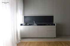 Apartment #Roma, 2014 project by: Manuela Tognoli and Filippo Pernisco  interiordesign #architettura  #livingroom #cucina #kitchen #grey