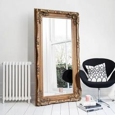 Belham Living Nancy Oversized Mirror 40w X 78h In Hcc