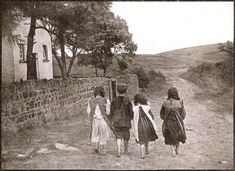 THE ROSE SHAW PHOTOS – BAREFOOT TO SCHOOL  Clogher Valley, County Tyrone, Ireland