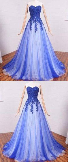 Lace Evening Dress, Prom Dresses Long, Prom Dresses, Blue Evening Dress, A-Line Evening Dress Prom Dresses Long Navy Blue Prom Dresses, Sequin Prom Dresses, A Line Prom Dresses, Beautiful Prom Dresses, Tulle Dress, Sequin Dress, Lace Dress, Dress Prom, Party Dress