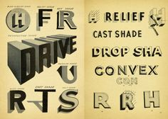 As a salute to shadow type, we scoured the Internet for beautiful examples and struck gold. View the gorgeous shadow types we've found.