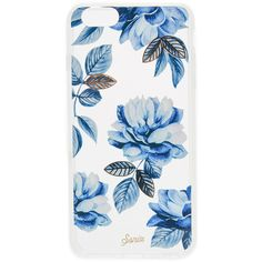 Sonix Indigo iPhone 6 Plus / 6s Plus Case ($35) ❤ liked on Polyvore featuring accessories, tech accessories, phone cases, phones, tech, phonecase, blue multi, transparent iphone case, metallic iphone case and iphone cover case