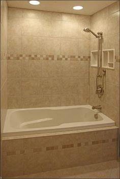 Tile Bathroom Shower Design Ideas Ceramic Recessed Lighting On Dimmer.  Nothing Like Having Lights Above You.