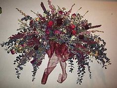 How to make a silk flower swag silk flowers swag and silk mightylinksfo