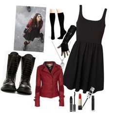 Scarlet witch!, created by darry-1619 on Polyvore