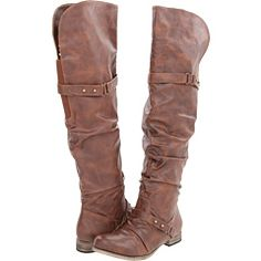 Just got these & I'm in love with them! So cute! Over the knee brown boots!