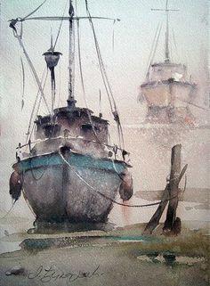 Dusan Djukaric #watercolour #painting #watercolour_paper