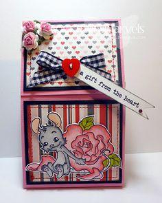 Concertina Matchbook gift pouch tutorial