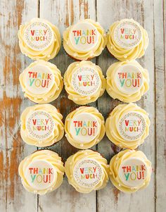 Thank You Cupcakes Thank You Cupcakes, Domestic Worker, Feeling Appreciated, Doughnut Cake, Cupcake Bakery, Cakes And More, Doughnuts, Special Gifts, Cake Ideas