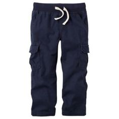 Carter's Toddler Boy Woven Cargo Pants