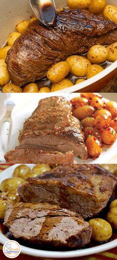 Polenta, Fruits And Veggies, No Cook Meals, Food Hacks, Steak, Pork, Food And Drink, Low Carb, Yummy Food