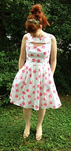 Simplicity 1803 by SuchaStrangeGirl, via Flickr