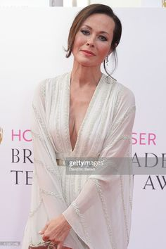 Amanda Mealing attends the House of Fraser British Academy Television Awards at Theatre Royal, Drury Lane, on May 10, 2015 in London, England.