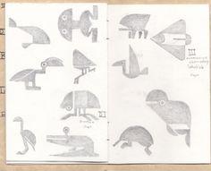 Mystonline forum member Deck 15's Riven animal reference sheet