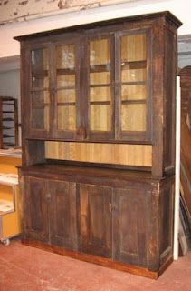 Pantry Cabinet: Butler Pantry Cabinet with Antique Large Oak ...