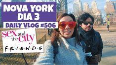 Nova York: Central Park Apartamento de Friends Sex and the City e mais!   DAILY VLOG #506 https://youtu.be/KpbuWfTrfks