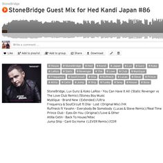 Good morning/afternoon! StoneBridge Hed Kandi #86 is up https://soundcloud.com/stonebridge/stonebridge-guest-mix-for-82 debuting the Static Revenger vs The Love Club Remix of my new single 'You Can Have It All' and funky flavours from summer #stonebridge #hedkandijapan #funky #sexy #house #luvgunz #kokolaroo #stativrevenger #miami #ibiza #pool #beach
