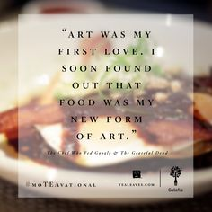Words from Tealeaves ICON Chef Charlie Ayers at Calafia Cafe in Palo Alto. Click through to watch his video and get the recipe for his Mahogany Salmon Marinade. #moTEAvational