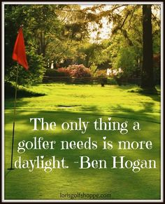 If only we could ask for more daylight! LOL #golf #golfer #lorisgolfshoppe