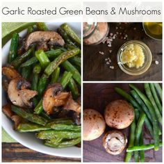Related Posts:Garlic Roasted Green Beans and MushroomsGarlic Roasted Asparagus and Red PepperEasy Grilled VegetablesHealthy CavatiniGrilled Turkey and Mushroom Favorite Healthy Recipes Veggie Side Dishes, Healthy Side Dishes, Vegetable Sides, Main Dishes, Side Recipes, Vegetable Recipes, Lean Cuisine, Roasted Green Beans, Cooking Recipes