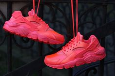 "The Nike Air Huarache Run PRM ""Hot Lava"""
