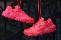 """The Nike Air Huarache Run PRM """"Hot Lava"""""""