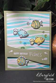 Created by Rachel Bergfeld using Simon Says Stamp Exclusives.