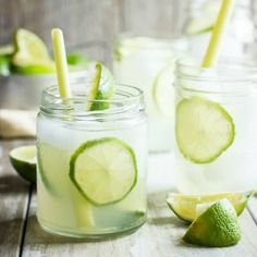 A refreshing drink for the summer. Lemongrass and fresh lime juice served over ice.