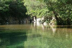 Il fiume Calore a Felitto