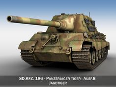 Panzerjäger Jagdtiger/Sd.Kfz. 186