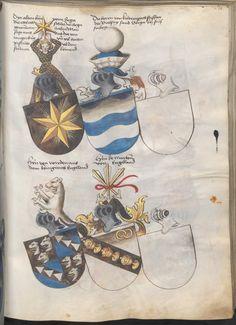 Grünenberg, Konrad: Das Wappenbuch Conrads von Grünenberg, Ritters und Bürgers zu Constanz um 1480 Cgm 145 Folio 236